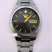 精工 5 Day/Date Automatic Mens Wristwatch 17 Jewels....36mm