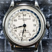 Baume & Mercier Steel 44mm Automatic MOA10106 pre-owned