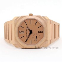 Bulgari Rose gold Automatic Gold 40mm new Octo