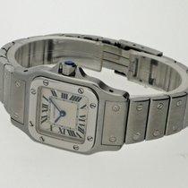 Cartier Santos Galbée gebraucht 24mm Stahl