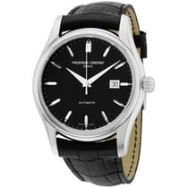 Frederique Constant Classics Carree Stål 43mm Sort