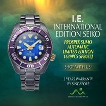 Seiko Prospex Steel 45mm Purple No numerals Singapore, Singapore