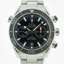 Omega Seamaster Planet Ocean Chronograph Steel Black