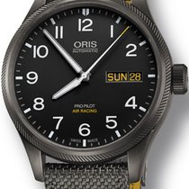 Oris Big Crown ProPilot Day Date Steel 45mm Black United States of America, New York, New York