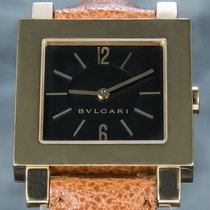 Bulgari Quadrato Yellow gold 29mm Black Arabic numerals