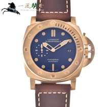 Panerai Bronze Automatic Blue 47mm pre-owned Special Editions