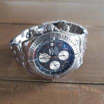 Breitling Chronomat Evolution Staal 44mm Blauw Geen cijfers Nederland, Den Haag
