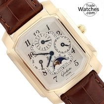 Glashütte Original Senator Karrée Yellow gold 31mm Silver Arabic numerals United States of America, Florida, Sunny Isles Beach