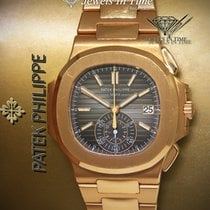Patek Philippe Or rose 40.5mm Remontage automatique 5980/1R-001 occasion