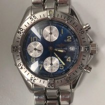 Breitling Colt Steel 41mm Blue Arabic numerals