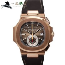 Patek Philippe Nautilus Rose gold 40.5mm Brown