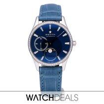 Zenith Elite Ultra Thin Acier 33mm Bleu
