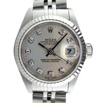 Rolex Lady-Datejust 26mm Argent