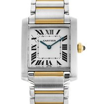 Cartier Tank Française Steel 25mm White Roman numerals United States of America, Florida, Miami