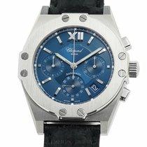 Chopard St. Moritz Steel 37mm Blue United States of America, New York, New York