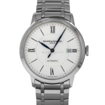 Baume & Mercier Classima Steel 40mm Silver Roman numerals United States of America, Maryland, Baltimore, MD