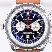 Breitling Navitimer Chrono Matic Chronograph black dial left...
