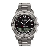 Tissot Men's T047.420.44.057.00 T-Touch II Titanium Watch