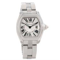カルティエ (Cartier) Roadster Small Silver Dial Ladies Steel Watch...