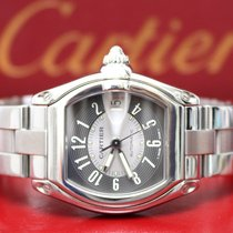 Cartier Roadster Large Gray Dial Steel Automatic Watch...