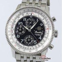 百年靈 計時碼錶 42mm 自動發條 二手 Montbrillant Olympus 黑色