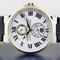 50d07ddde1470 Ulysse Nardin Marine Chronometer 43mm new Automatic Watch with original box  and original papers 265-
