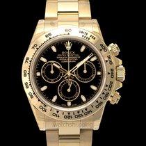 Rolex Daytona Black/18k yellow gold Ø40mm - 116508