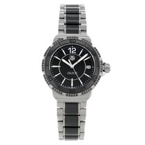 TAG Heuer Formula 1 Lady pre-owned 34mm Black Date Ceramic