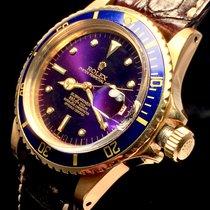 Rolex Submariner Yellow Gold 1680/8 Tropical Purple
