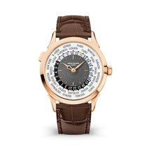 Patek Philippe World Time Rose gold 38.5mm Grey United States of America, New York, New York