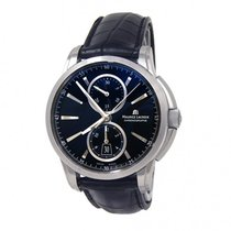 Maurice Lacroix Pontos Stainless Steel Automatic Chrono Watch...
