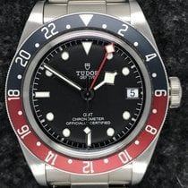 Tudor Black Bay GMT Stål 41mm Svart