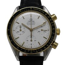 Omega Speedmaster Reduced 175.0032 Automatic Steel Gold White