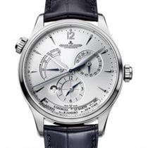 Jaeger-LeCoultre Master Geographic Otel 39mm Argint