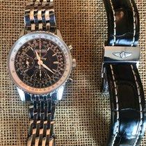 Breitling Montbrillant Datora Steel 43mm No numerals United States of America, New York, Saint James