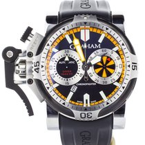 Graham Chronograph 47mm Automatic pre-owned Chronofighter Oversize