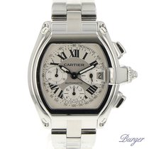 Cartier W62006X6 Staal Roadster 42.8mm