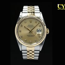 Rolex Gold/Steel 36mm Automatic 16233 pre-owned Malaysia, Kuala Lumpur