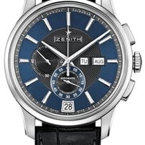 Zenith Steel Automatic Blue 42mm new El Primero Winsor Annual Calendar