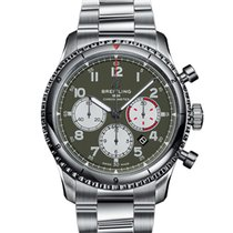 Breitling Steel 43mm Automatic AB01192A1L1A1 new