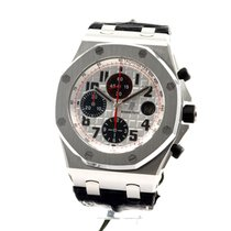 Audemars Piguet Royal Oak Offshore Chronograph Steel 42mm White Arabic numerals United States of America, California, beverly hills