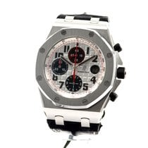 Audemars Piguet Royal Oak Offshore Chronograph Çelik 42mm Beyaz Arapça