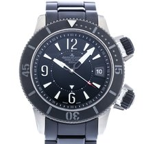 Jaeger-LeCoultre Master Compressor Diving Alarm Navy SEALs Titanium 44mm Black United States of America, Georgia, Atlanta