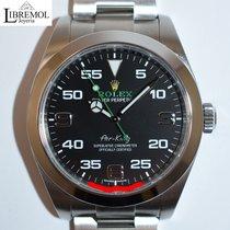 Rolex Air King usados 40mm Negro Acero