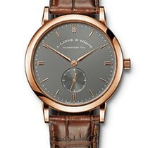 A. Lange & Söhne Saxonia Rose gold Grey