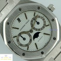 Audemars Piguet Royal Oak Day-Date Stahl 36mm Weiß