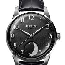 BEHRENS BOO1-A 贝伦斯 月岩系列自动机械手表 全新 钢 自动上弦 中国, SHENZHEN
