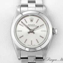 Rolex Oyster Perpetual Steel 26mm Silver
