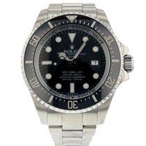 Rolex Sea-Dweller Deepsea occasion 44mm Noir Chronographe Date Acier