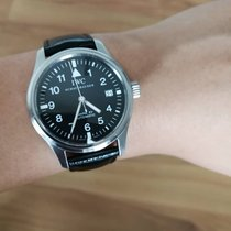 IWC Pilot Mark Steel 38mm Black Singapore, singapore